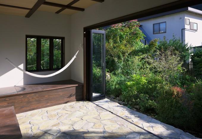 日光の家の部屋 サンルーム