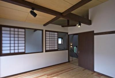 2階の居室 (日光の家)