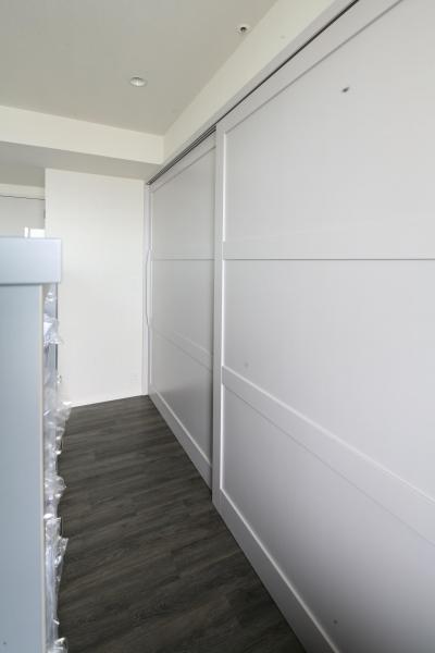 大容量壁面収納 (S邸)