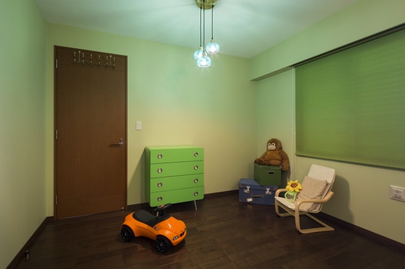No.95 30代/3人暮らしの部屋 子供部屋