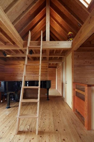 土浦の家3 (ロフト付きの空間)