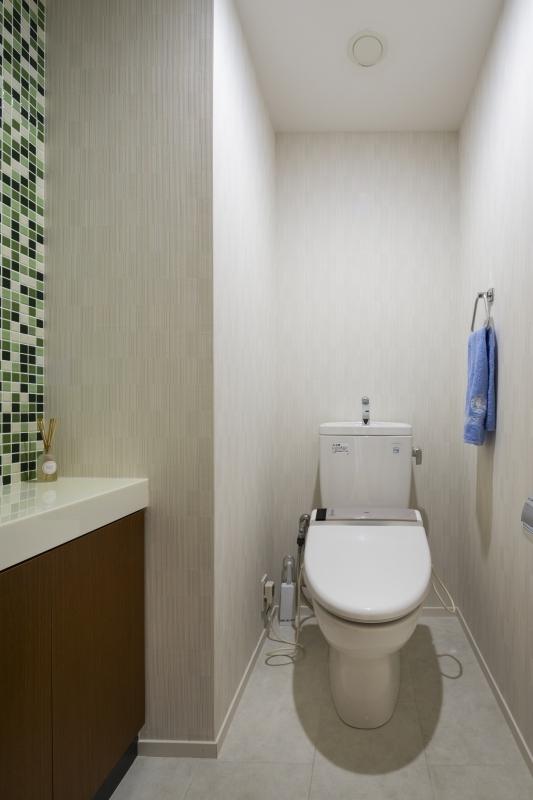 No.95 30代/3人暮らしの部屋 トイレ