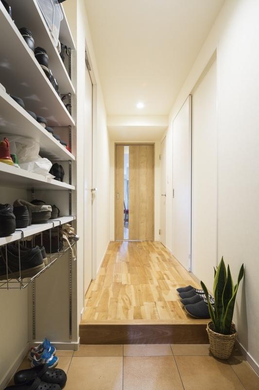 No.91 30代/3人暮らしの部屋 廊下1