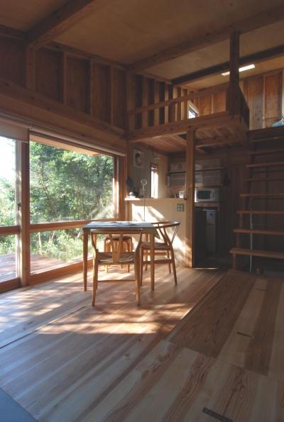 OUR CABIN OUR DIY~直営、DIYで小屋をつくる~ (大型木製建具)