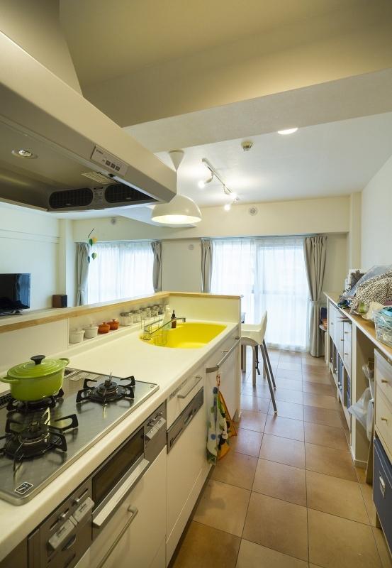 No.91 30代/3人暮らしの部屋 キッチン2
