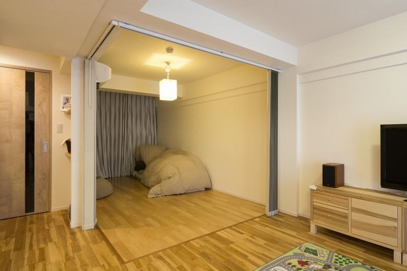 No.91 30代/3人暮らしの部屋 寝室2