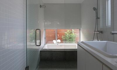 研究学園の家 (浴室)