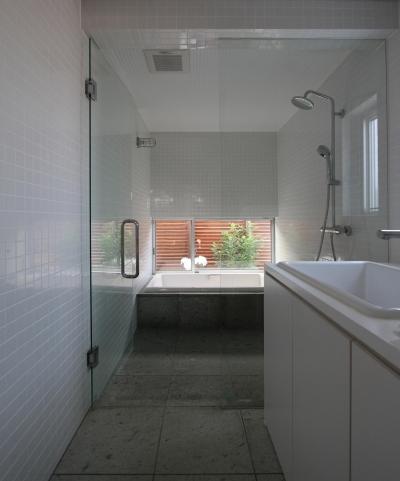 浴室 (研究学園の家)