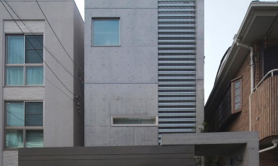 松原の家 (外観)