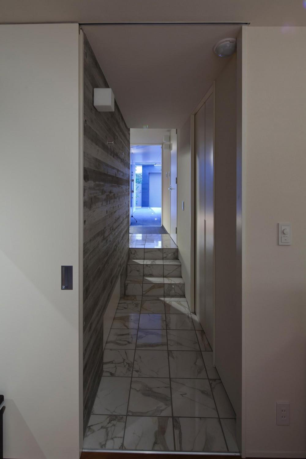 松原の家 (廊下)