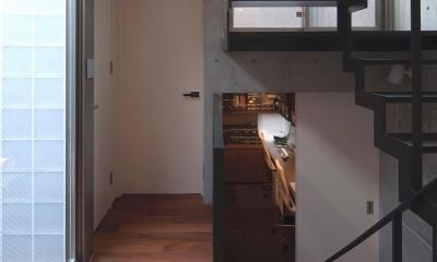 松原の家 (廊下・階段)