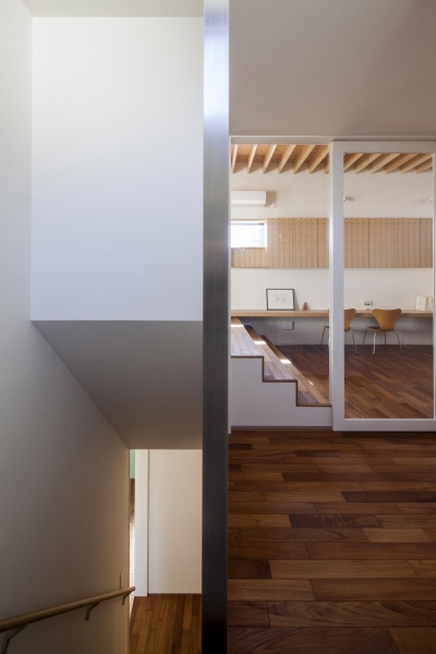 2階ホール (深沢の家)