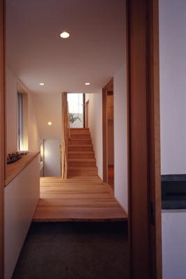 寛の家61 (1階 玄関ホール)