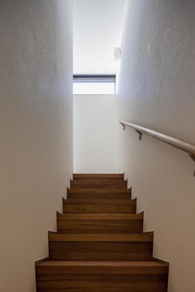深沢の家 (階段)