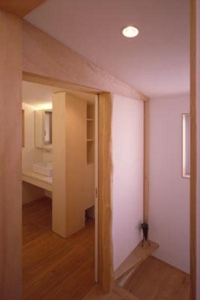 2階 階段ホール~洗面室 (寛の家61)
