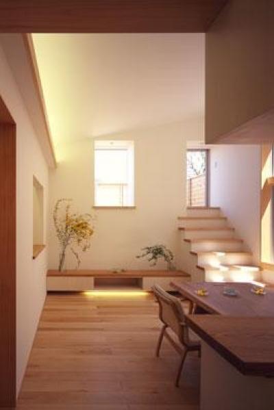 2階 キッチン~LD (寛の家61)
