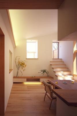 寛の家61 (2階 キッチン~LD)