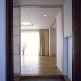 寛の家62 (玄関ホール)