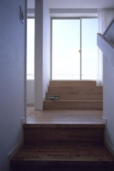 階段~2階ホール (寛の家62)