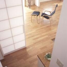 寛の家62 (階段~玄関ホール・LD)