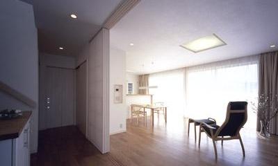 寛の家62 (1階 玄関ホール~LDK)