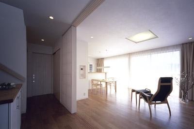 寛の家62の写真 1階 玄関ホール~LDK