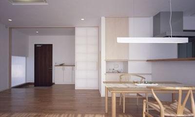 寛の家62 (1階 LDK~玄関ホール)