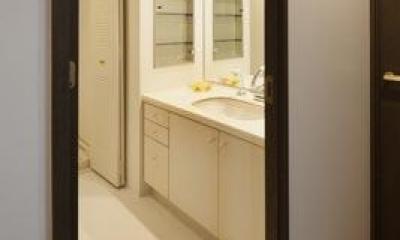 洗面室|寛の家82