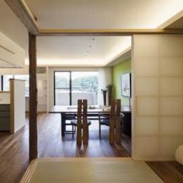 寛の家82 (和室~LD)