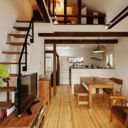T邸・家族のくらしをより楽しく豊かにするとっておきの家 (ロフト付きの開放的なLDK)