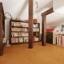 T邸・家族のくらしをより楽しく豊かにするとっておきの家の写真 ロフト-多目的スペース