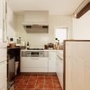 T邸・家族のくらしをより楽しく豊かにするとっておきの家の写真 機能的なL字型キッチン
