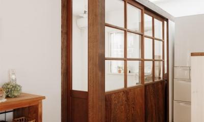 施主お気に入りの建具を再利用|T邸・家族のくらしをより楽しく豊かにするとっておきの家