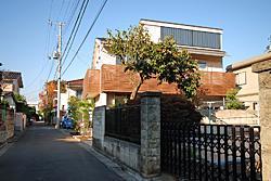 三鷹市I邸 (外観)