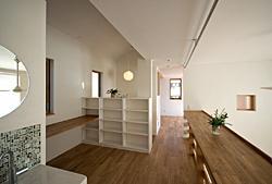 川崎市S邸の部屋 広い廊下
