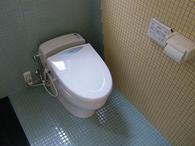 海の見える家の部屋 トイレ