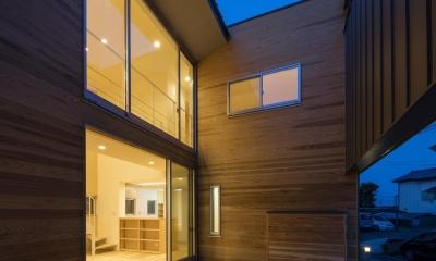 古間木の家 (ライトコート)