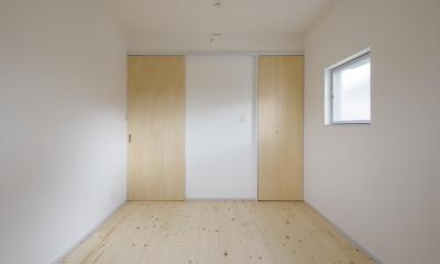 古間木の家 (寝室)