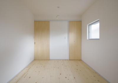 寝室 (古間木の家)