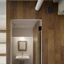 西葛西の住居 vol.1の写真 モダンな洗面スペース