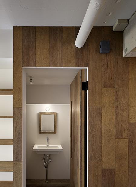 西葛西の住居 vol.1の部屋 モダンな洗面スペース