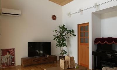桃ノ木の家 (リビング)