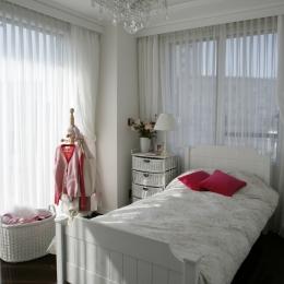 港区S邸 (Girl's Room)