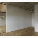 白の壁を基調とした部屋 (撮影:繁田諭)