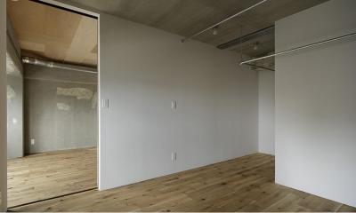 白の壁を基調とした部屋 (撮影:繁田諭)|西葛西の住居 vol.2