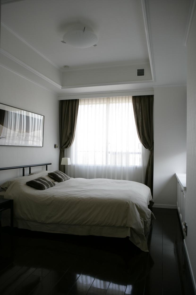 港区S邸の部屋 Guest Room