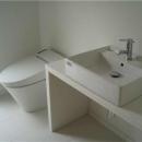 辻堂羽鳥の家 K邸の写真 シンプルなトイレ洗面