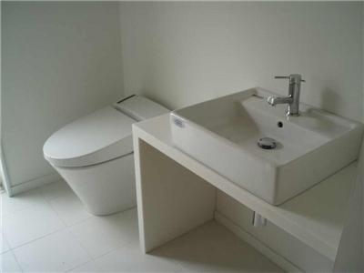 辻堂羽鳥の家 K邸の部屋 シンプルなトイレ洗面