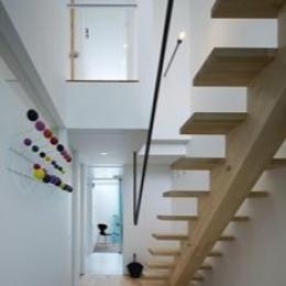 sweet-玄関にある階段