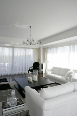 港区S邸 (Living room 2)